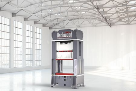 Beckwood to supply 800-ton triple-action press for Aerospace Manufacturer Weldmac