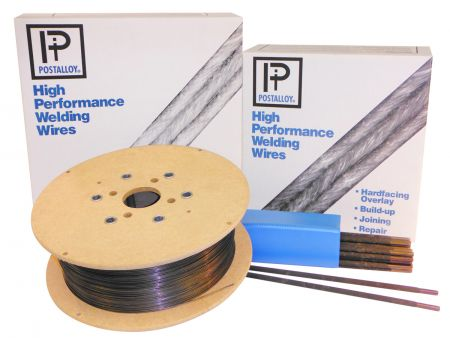 Tungsten Carbide hardface welding alloy provides extreme abrasion resistence