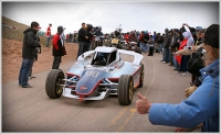 Yokohama electric vehicle breaks record at Pikes Peak International Hill Climb