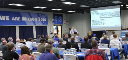 Wilson Tool stamping division celebrates 21 years