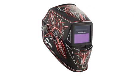 Miller Classic Series helmet now available in Rise graphic