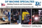 New D/F MACHINE SPECIALTIES catalog