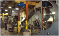 Compact coil handling equipment maximizes manufacturing space
