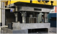 A gap press production system increases output, reduces costs