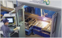 Cambridge Pro Fab replaces a multistep process for prepping metal fabrications with one machine