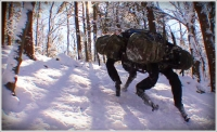 Boston Dynamics develops a military transport device--with man's best friend as its model