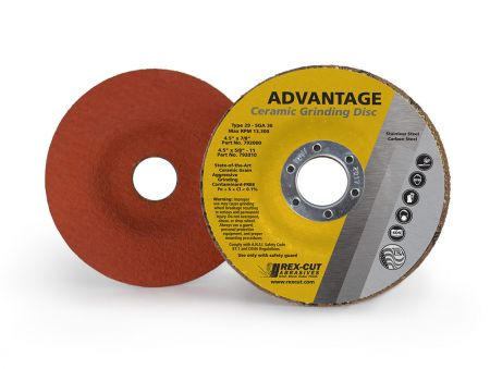 Rex-Cut Abrasives releases the latest in ceramic grinding technology