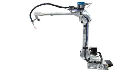 Robot arm from Miller delivers 63 percent greater reach