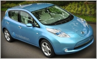 The zero-emission Nissan Leaf aims to change the way we drive