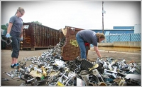Participants in the Old Town Scrapfest turn metal scrap into art in two weeks