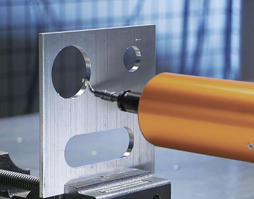 ATI CDB metal deburring application 500